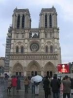 Notre Dame in 2005 13 - funeral of Pope John Paul II.jpg