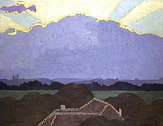 Cantonal Museum of Fine Arts - Image: Nuage à Romanel