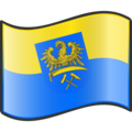 Nuvola Upper Silesia flag.png