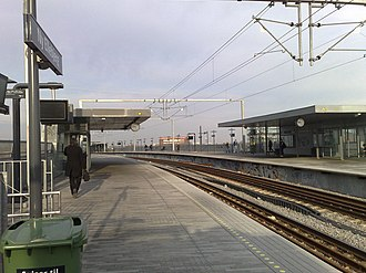Ny Ellebjerg station - Upper level platforms