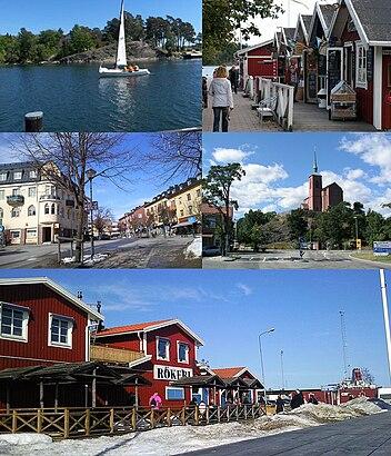 Vägbeskrivningar till Nynäshamn (J) med kollektivtrafik