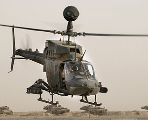 Bell OH-58D Kiowa Warrior.