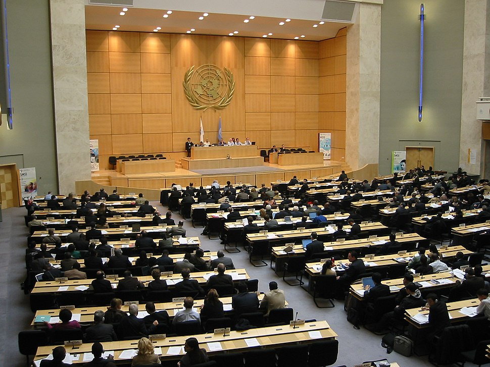 ONU Geneva mainroom