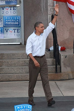 Business casual - President Obama in what can be considered as men's Business Casual, 2010