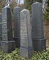 Obelisks on jewish cemetery in Bielsko-Biała.jpg