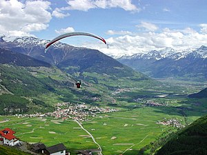 Vinschgau - Upper Vinschgau near Mals