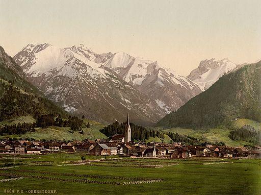 Oberstdorf um 1900