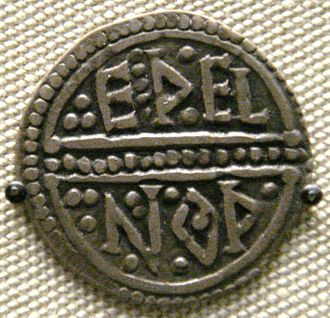 Offa of Mercia - Coin of Offa with the moneyer Ethelnoth