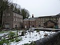 Offices, at Cromford Mill (in winter) - geograph.org.uk - 1639937.jpg