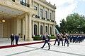 Official welcoming ceremony held for Moldovan president Igor Dodon 12.jpg