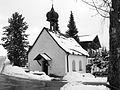 Ofterschwang - Sigiswang - Kapelle St Wolfgang v S (sw).JPG