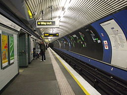 Old Street Northern line northbound