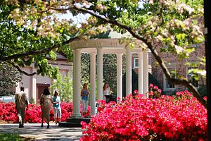 The Old Well of the University of North Caroli...