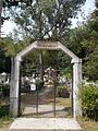 Old cemetery. Entrance. - Máriabesnyő, Gödöllő, Hungary.JPG