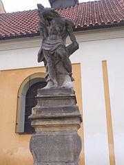 Statue of Saint Sebastian in Nové Sady (Olomouc)