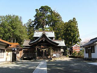 Shinto shrine in Kōchi Prefecture, Japan