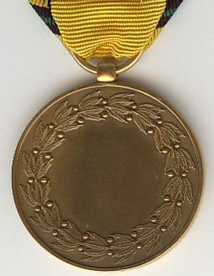 Commemorative Medal for Foreign Operations or Missions - Image: Operations etrangeres revers