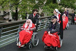 Order of Malta Ambulance Corps - Lourdes Pilgrimage