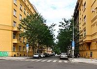Orlická street, Praha, north part.jpg