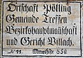 Ortstafel Pölling, Gemeinde Treffen am Ossiacher See, Kärnten.jpg