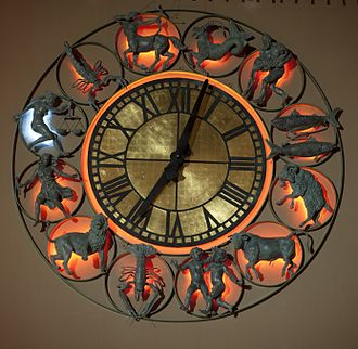 Oslo Astrological Clock - Oslo astrological clock