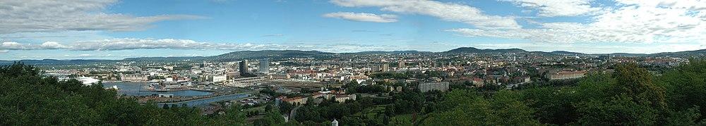 panorama uitzicht