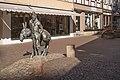 Osterode am Harz, sculptuur der Eseltreiber van Helmut Moos IMG 4879 2018-07-03 18.12.jpg