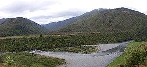 Tararua Forest Park - Otaki River near Otaki Forks