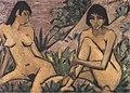 Otto Mueller - Zwei in Dünen sitzende Mädchen - ca1926.jpeg