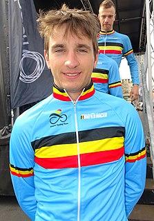 Edward Planckaert Belgian bicycle rider