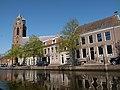 Oudewater, de Sint Michaelskerk RM32067 vanaf de West IJsselkade IMG 8928 2019-04-20 13.52.jpg