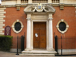 Church of Our Most Holy Redeemer and St Thomas More, Chelsea - Image: Our Most Holy Redeemer and St Thomas More Catholic Church, Doorway geograph.org.uk 1569932