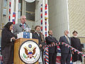 Outside US Embassy in Kabul 2002.jpg