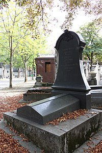 P re lachaise cemetery division 81 wikimedia commons for Chaise baudouin