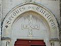 Périgueux église St Georges tympan portail.JPG