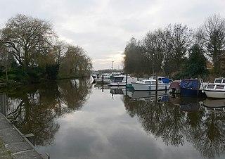 Terheijden Place in North Brabant, Netherlands