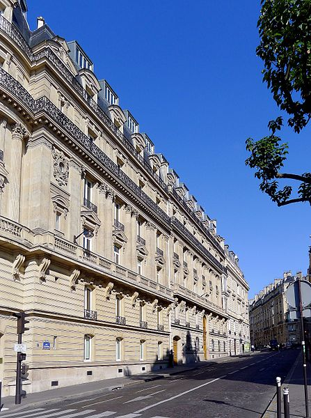 Fichier:P1030800 Paris XVI rue Boissière rwk.JPG