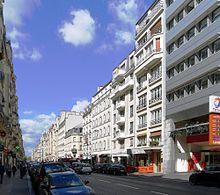 Superieur Rue De Courcelles Au Nord Du Boulevard De Courcelles (partie XVII De La  Rue).