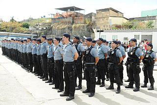 Pacifying Police Unit law enforcement and social services program in Brazil