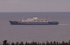 MV Prince of Acadia, Saint John, NB to Digby, NS ferry.