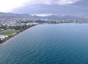 Nea Anchialos - View of Anchialos from the Pagasetic Gulf