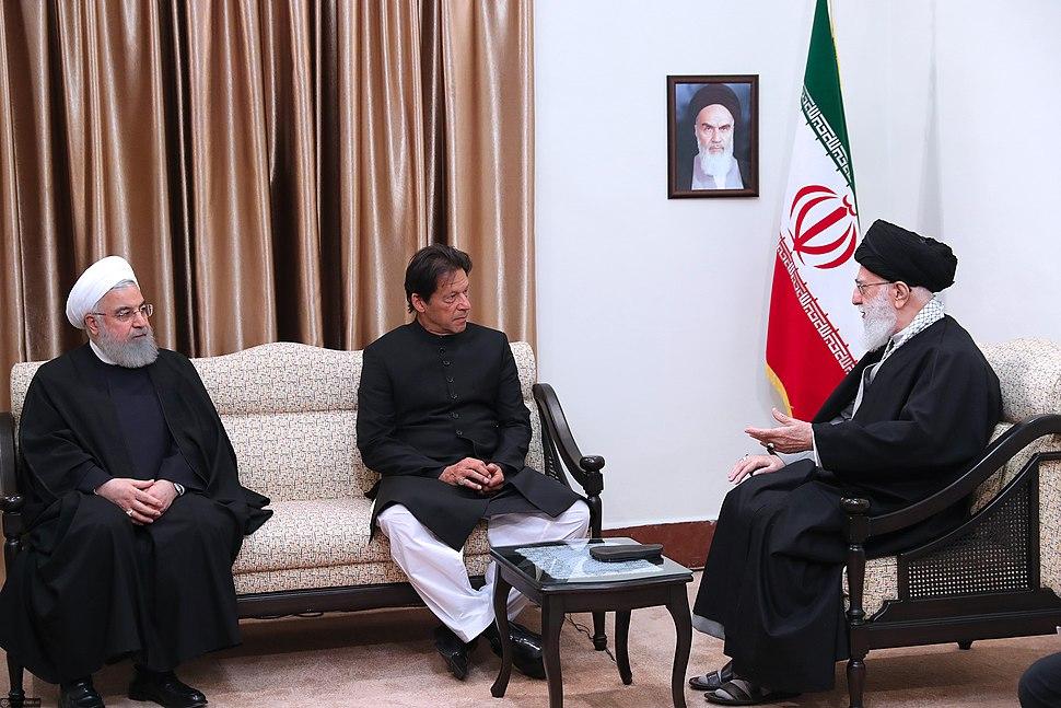 Pakistan PM Imran Khan met with Ali Khamenei 03