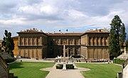Palazzo Pitti Gartenfassade Florenz