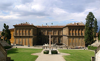 Palacio Pitti, Florencia, Italia