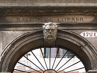 Teodoro Correr - Entrance to the Museo Correr.