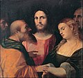 Palma il Vecchio - Christ and the adulteress - Google Art Project.jpg