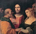 Palma il Vecchio - Christ and the adulteress - Google Art Project.jpg