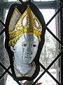 Panel with Head of a Bishop, South Lowlands, c 1440-60 (14655282784).jpg