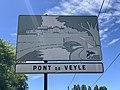 Panneau H33 Pont Veyle Route Mâcon St Cyr Menthon 3.jpg