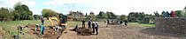 Panorama of Time Team in Groby.jpg